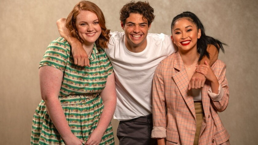 "Shannon Purser, left, stars in ""Sierra Burgess Is a Loser"" with Noah Centineo, who also stars in ""To All the Boys I've Loved Before"" with Lana Condor."