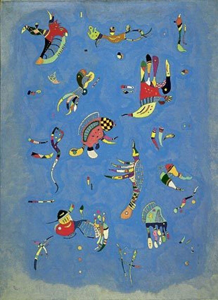 "Kandinsky's ""Sky Blue,"" 1940"