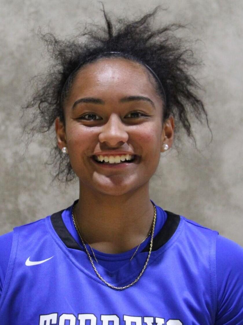 Te-Hina Paopao, La Jolla Country Day high school girls basketball