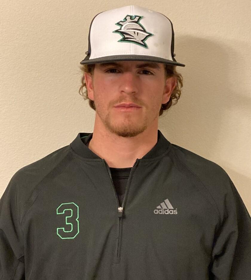Thousand Oaks High senior baseball player Roc Riggio.
