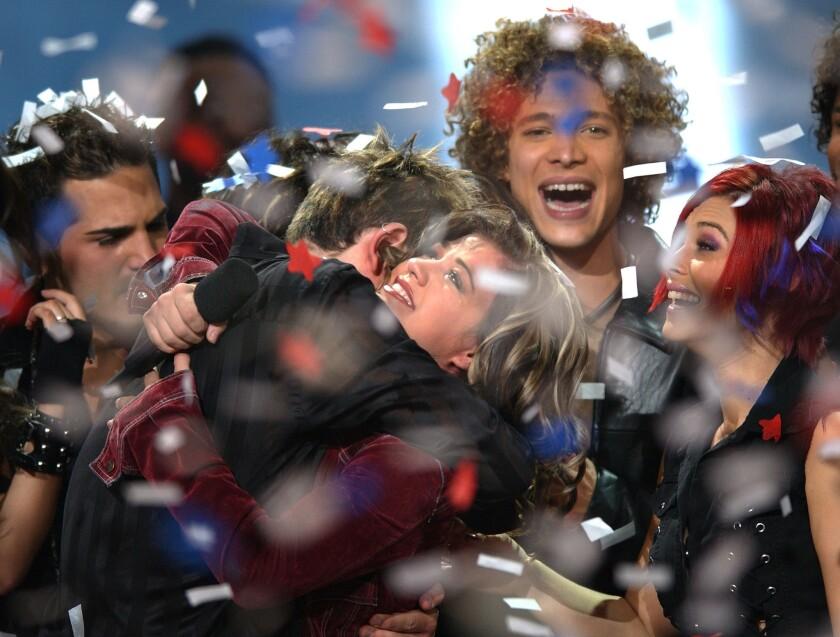 """First-season winner of """"American Idol"""" Kelly Clarkson in 2002."""