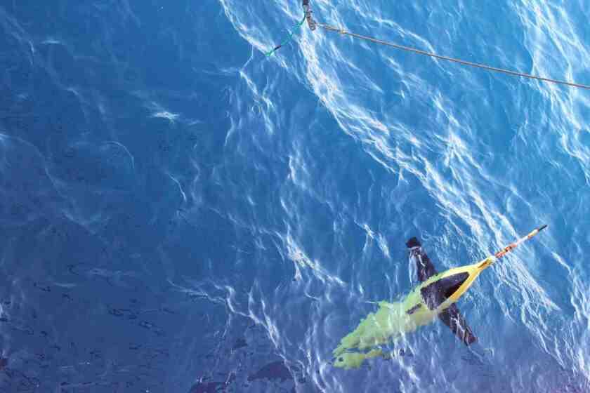 Antarctic underwater glider