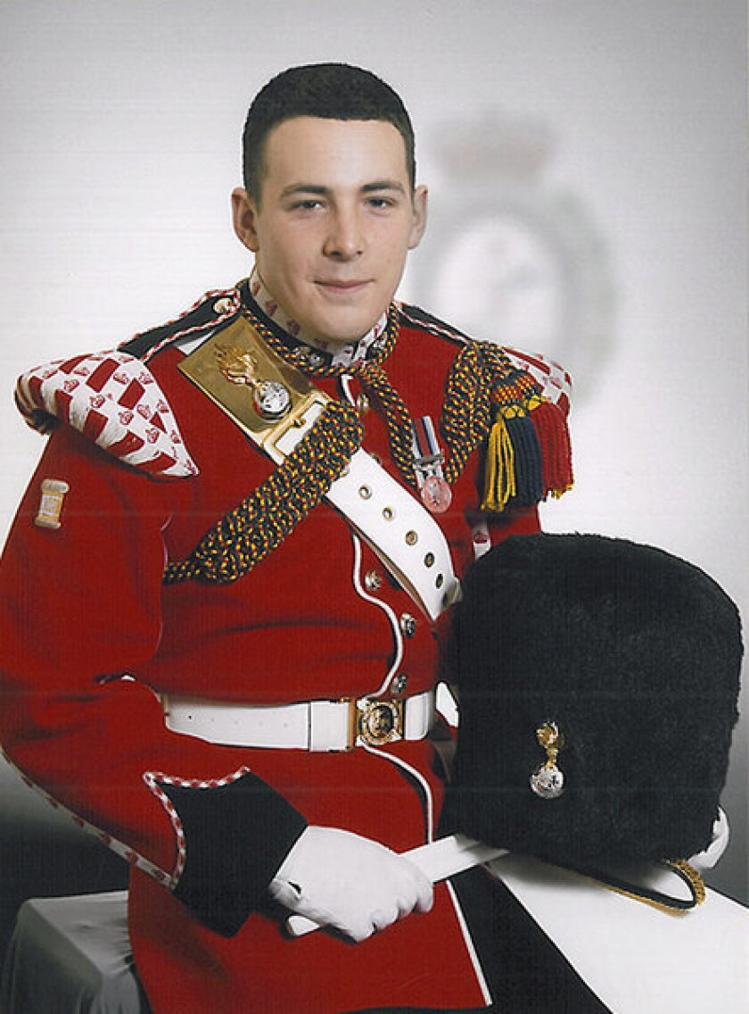The British Defense Ministry released this photo of Lee Rigby, the soldier killed in an attack on a London street.