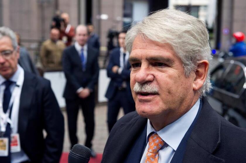 El ministro de Asuntos Exteriores de España, Alfonso Dastis. EFE/Archivo