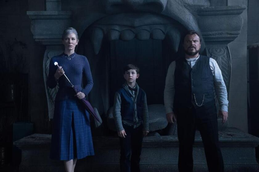 """The House with a Clock in Its Walls"" llega para destronar a ""The Predator"""