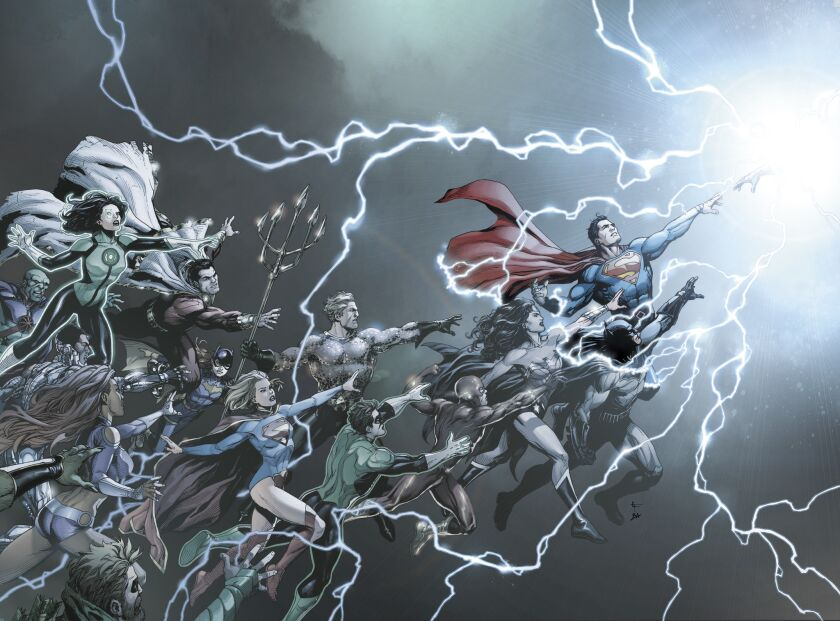 Images from DC's Rebirth comics event