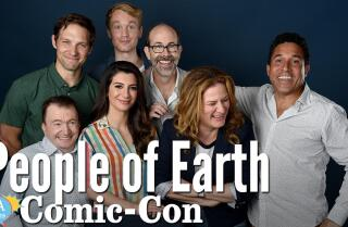 "The ""People Of Earth"" Cast Is Hoping To Be Abducted By Aliens"