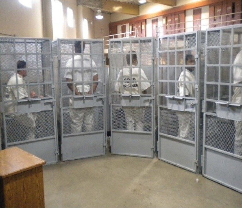Judge Orders California To Defend Secret Prison Tours Los Angeles Times