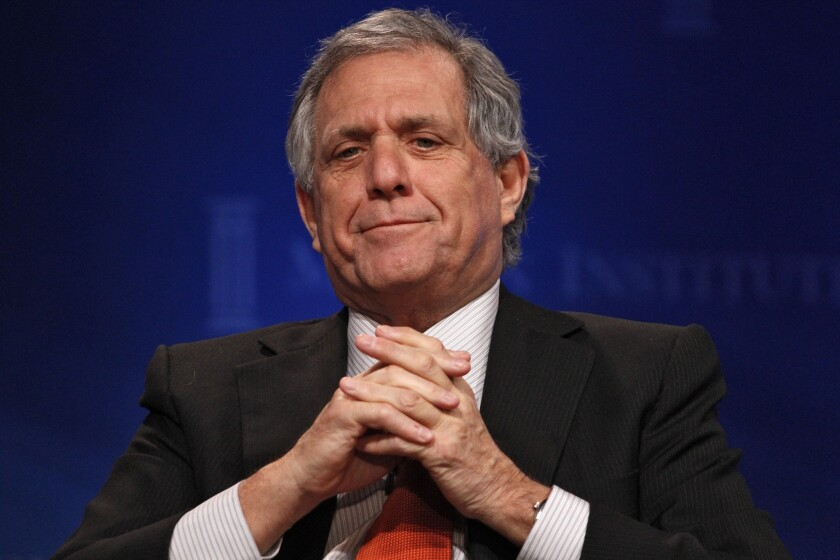 CBS Corp. Chief Executive, seen at a conference last month, was not shy on Wednesday about his network's dominance in the ratings.