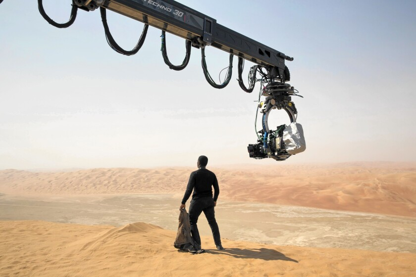 Digging up secrets of 'Star Wars: The Force Awakens' filming in desert  sands - Los Angeles Times