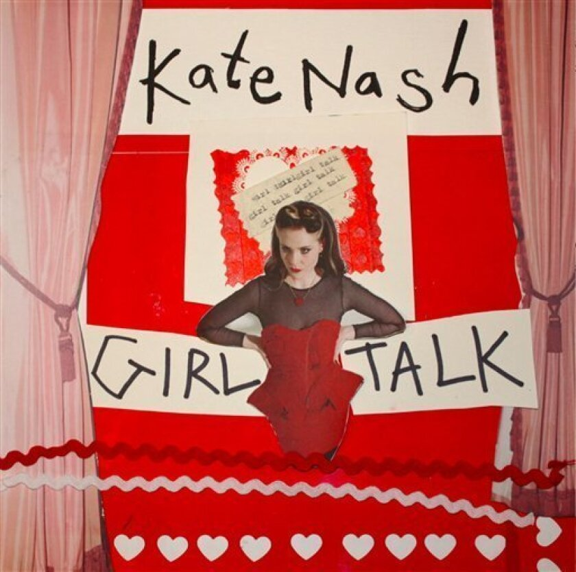 """This CD cover image released by Have 10p Records/Fontana shows """"Girl Talk,"""" by Kate Nash. (AP Photo/Have 10p Records/Fontana)"""