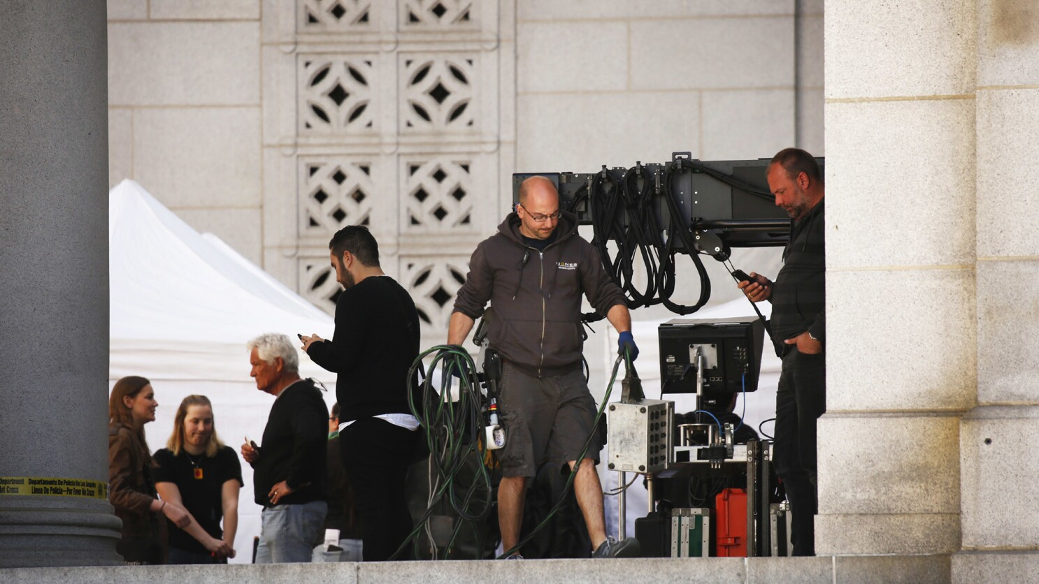 Film In The Time Of Corona L A Shoots Restart Los Angeles Times
