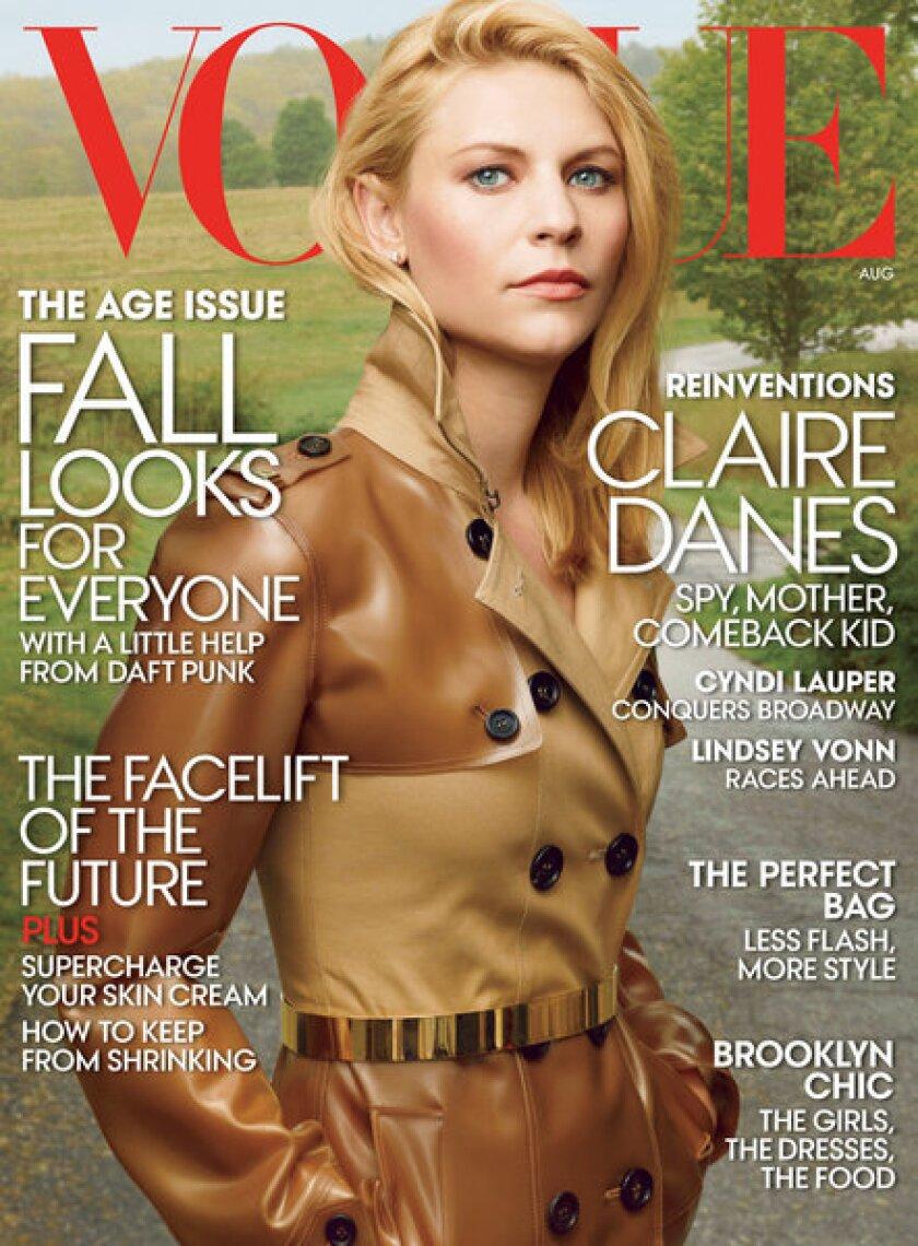 Claire Danes Vogue