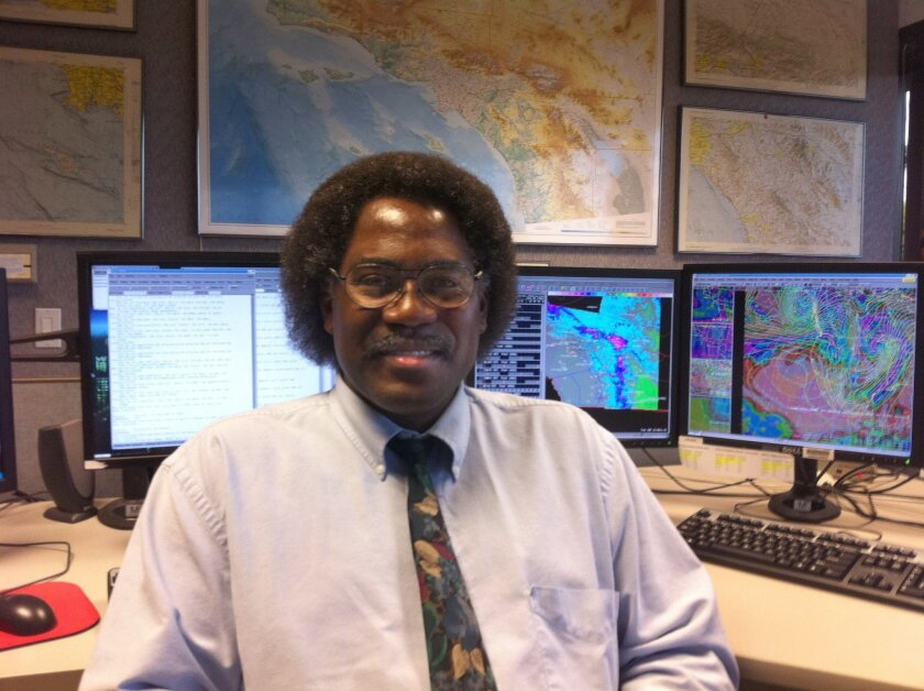 Ivory Small is a forecaster at the National Weather Service in San Diego and the bureau's chief science officer.