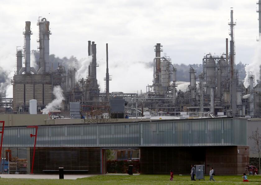 Phillips 66 refinery in Wilmington
