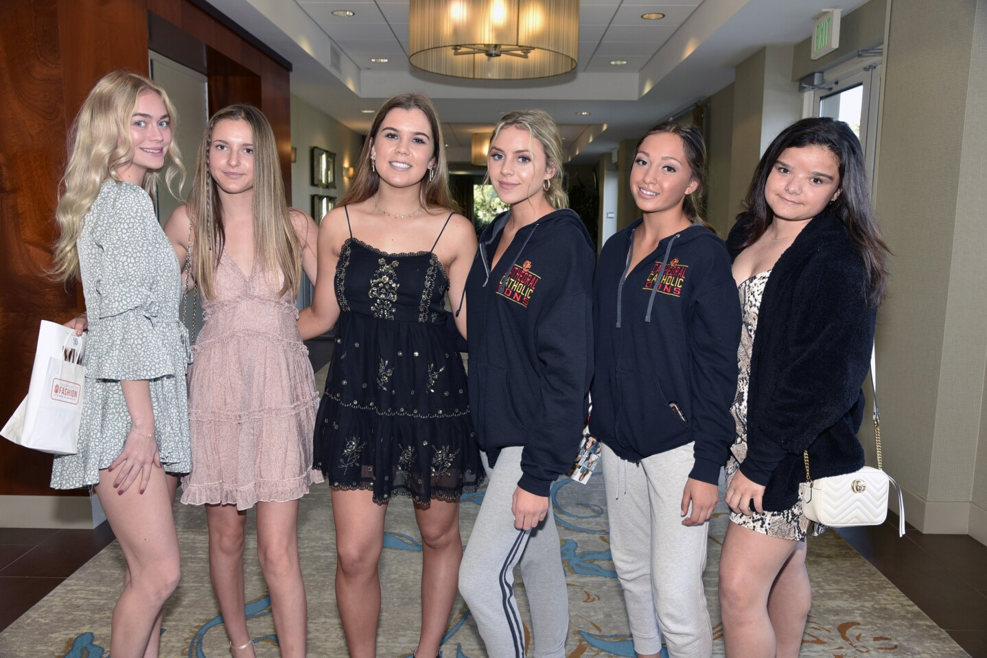 Ava Westfall, Grace Tecca, Emily Abts, Georgia Kimmel, Isabelle Mossy, Mirabella Nichols