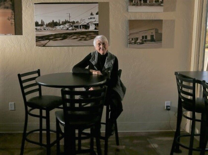 Nicki Jones, the owner of Nic's, the first restaurant to open in Paradise after the Camp fire.