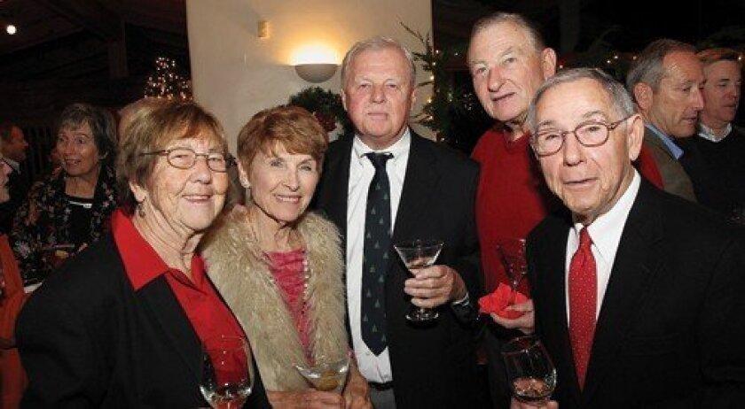 Carol Doughty, Helen Hammond, Wally Chenoweth, Bill Hinchy, Dick Doughty (Photo: Jon Clark)