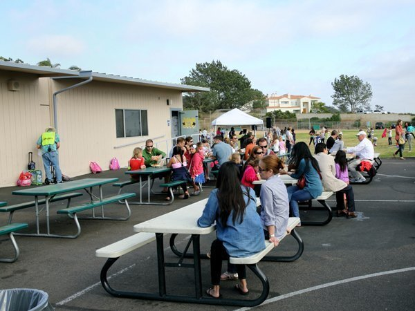 Del Mar Heights School year-end event