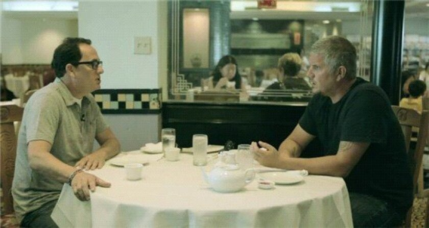 sam the cooking guy and chris cantore eat dim sum.