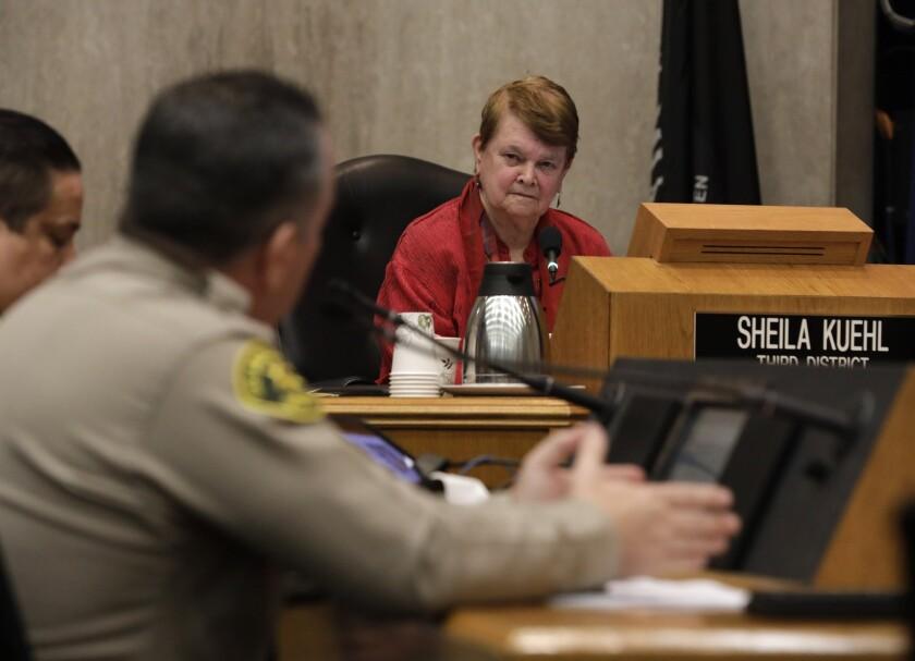 L.A. County Supervisor Sheila Kuehl