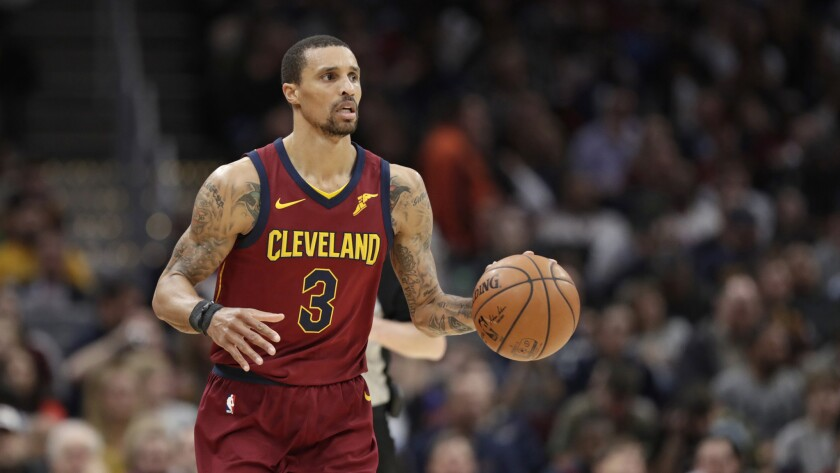 The Milwaukee Bucks have agreed to make a five-player, three-team trade that would land them veteran guard George Hill (3) and forward Jason Smith (not pictured).