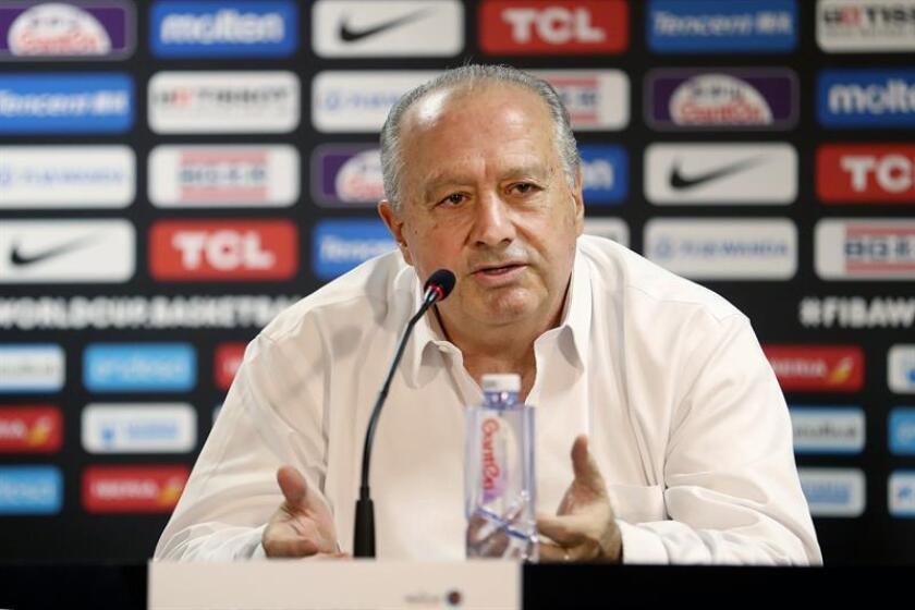 El presidente de la FIBA, Horacio Muratore. EFE/Archivo
