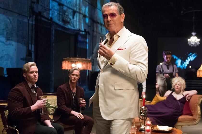 "Pierce Brosnan stars in the movie ""Urge."""