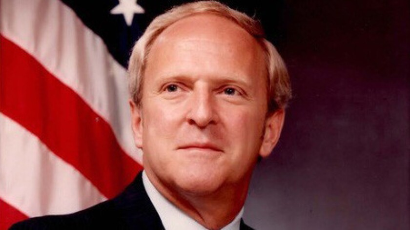 Undated photo of Roger Young. He was the FBI special agent in charge in San Diego from 1978 to 1980.