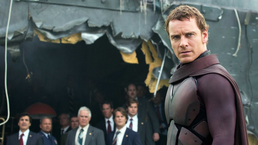 """Michael FassBender in 2014's """"X-Men: Days of Future Past"""" on HBO."""