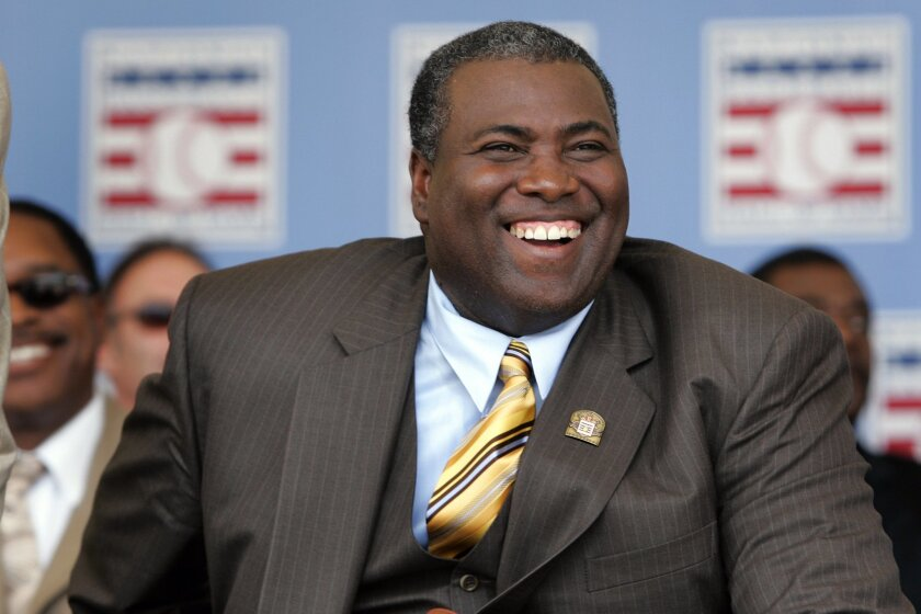 Tony Gwynn was inducted into the Baseball Hall of Fame in Cooperstown, N.Y., on Sunday, July 29, 2007.