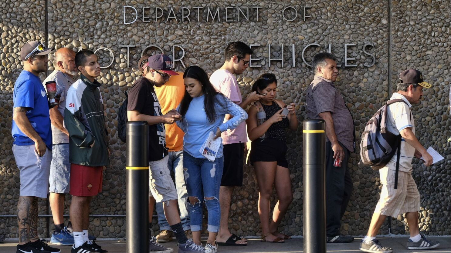 California DMV leadership overhauled over long lines and poor service