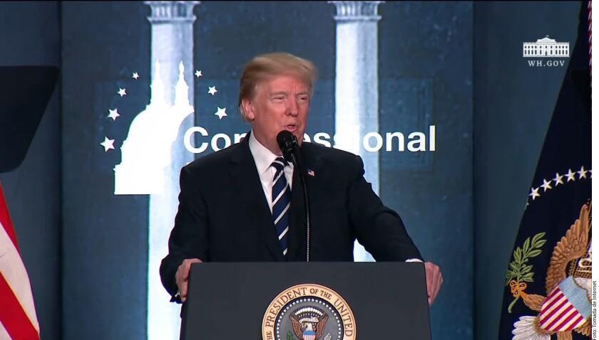 """El Presidente estadounidense, Donald Trump, criticó el nombre que reciben los migrantes indocumentados llegados al país como menores de edad, conocidos como """"dreamers"""" (soñadores)."""