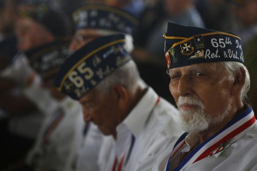 El gobernador de Puerto Rico, Ricardo Rosselló, firmó hoy el Proyecto del Senado 170 que brinda mejores beneficios a veteranos y militares puertorriqueños. EFE/ARCHIVO