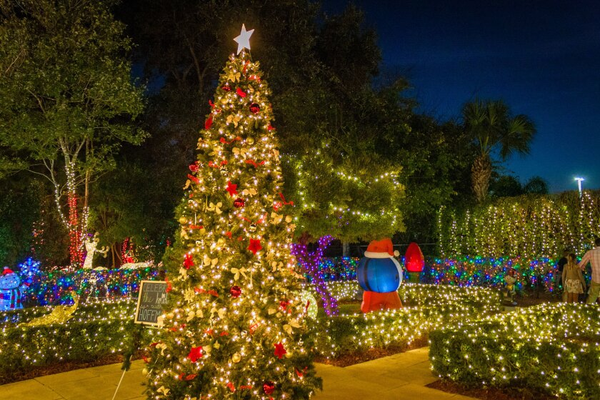 Hoffman's Chocolates is once again welcoming holiday revelers to its Winter Wonderland attraction at its chocolate factory and shop in Greenacres. Santa and Mrs. Claus will be visiting through Dec. 23 at the attraction, which runs through Dec. 30.