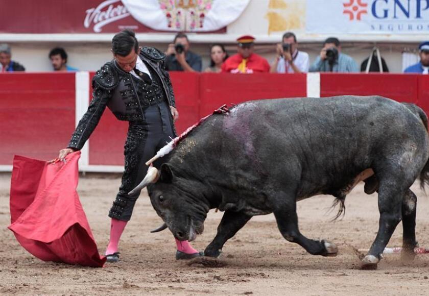 Mario Aguilar, torero mexicano. EFE/Archivo