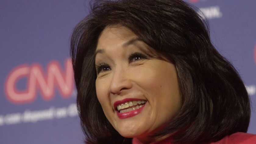 Journalist Connie Chung in New York in 2002.
