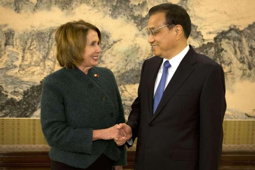 U.S. politicians in China