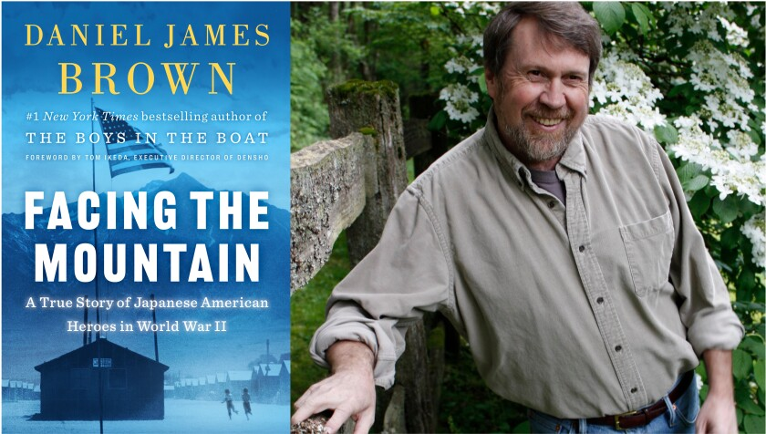 """Author Daniel James Brown and his new book, """"Facing the Mountain"""""""