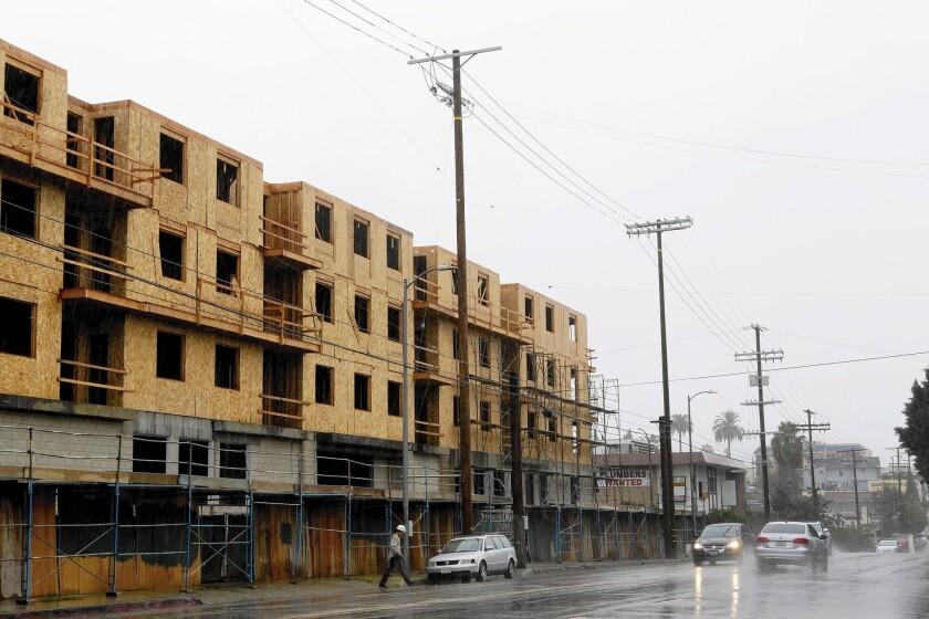 Development planned along Temple Street in Westlake