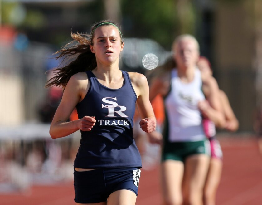 Scripps Ranch's Emily Erlenbach is among the leaders in the 1,600 meters.