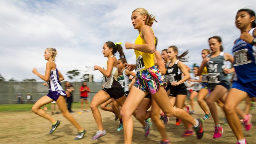 Top runners at the San Diego Section meet Saturday advance to the CIF State Championships next week in Fresno.
