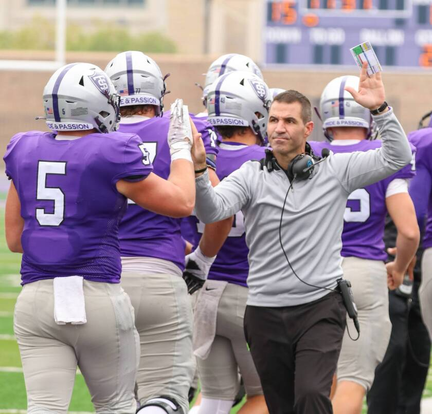 St. Thomas coach Glenn Caruso has led a program that went to two Division III title games and was dominant in the MIAC.