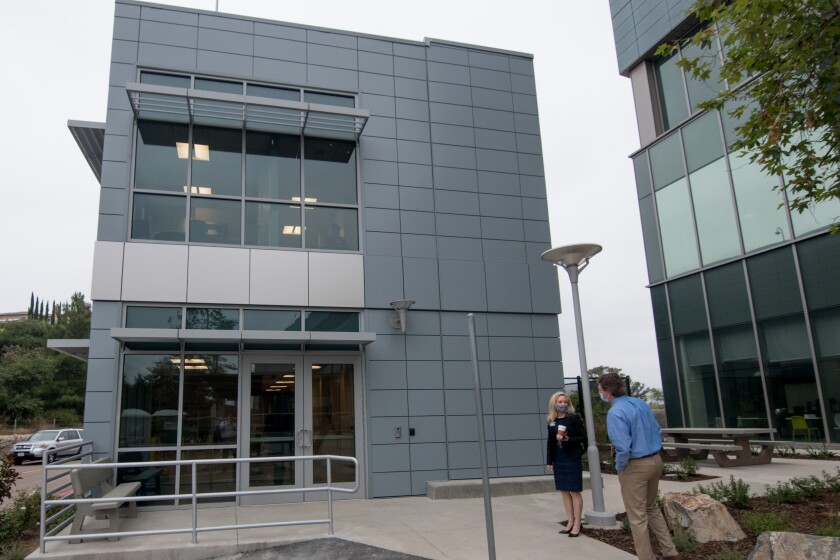 The new crisis stabilization unit at Palomar Medical Center Escondido opened Wednesday.