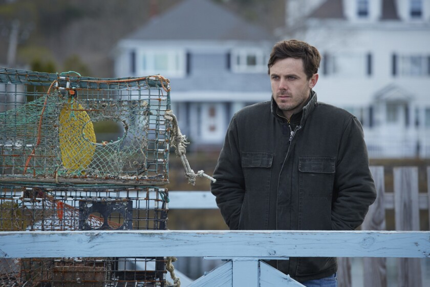 "Casey Affleck in ""Manchester By The Sea."" (Courtesy photo)"