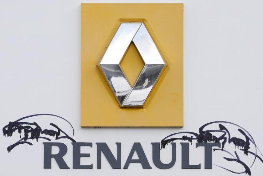 Vista del logotipo del constructor francés de automóviles Renault. EFE/Archivo