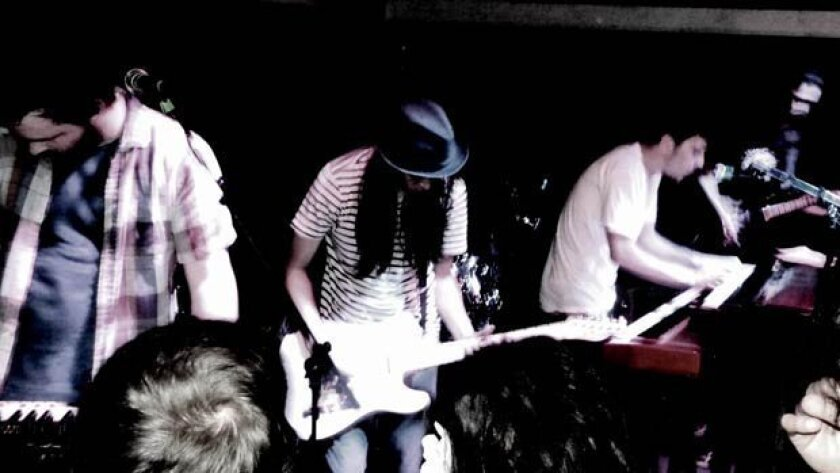 Hills Like Elephants will perform at Bar Pink during San Diego Music Thing