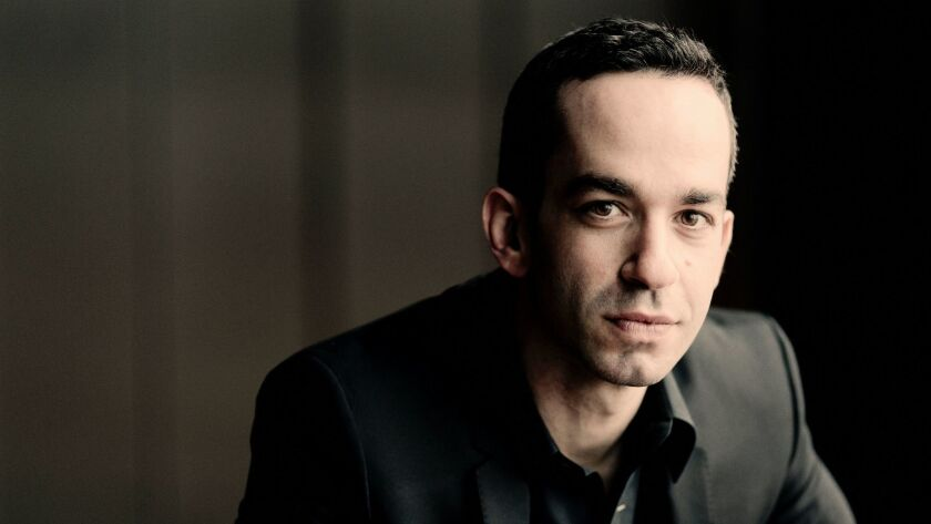 """Soloist Inon Barnatan and the San Diego Symphony worked well together Friday to bring Andrew Norman's """"Suspend"""" to life."""