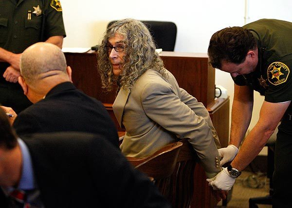 Rodney James Alcala, 66, center, acted as his own defense attorney in the trial in which he was accused of killing four women in Los Angeles County as well as Robin Samsoe, 12, of Orange County in the late 1970s. He focused on the Samsoe case, for which there was little physical evidence.