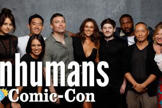 """""""Inhumans"""" Cast Was Blown Away By The Comic-Con Panel Turnout"""